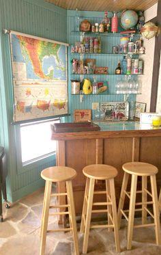 Tof idee voor feestbeesten en wijnliefhebbers: een home bar in huis - Roomed | roomed.nl