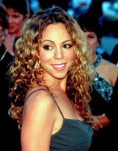 mariah carey natural hair - Google Search
