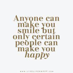 Anyone Can Make You Smile
