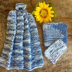 A personal favorite from my Etsy shop https://www.etsy.com/listing/538746967/dishtowel-set-knit-dish-cloth-scrubber