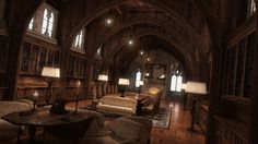 The Library by jacktomalin.deviantart.com on @deviantART