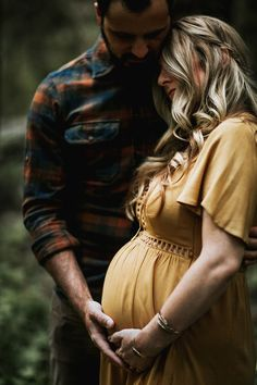 Styling Note: For a more casual, bohemian look, try dressing him in plaid. Love the subtle crochet in her shirt as well!