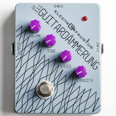 """New from @electro_faustus: the Guitardämmerung: """"from heavily gated distortion to odd glissando that sounds like a mad Thereminist is playing along with you"""" #namm #namm16 #namm2016 #nammshow #nammshow16 #nammshow2016 #thenammshow #effectsdatabase #fxdb #gearphoria #iheartguitar #geartalk"""
