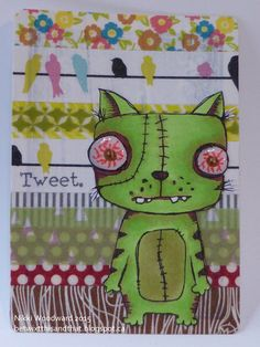 cards trading artist quirky easy drawing prompt