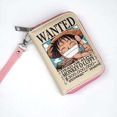Wanted Chopper & Luffy Zipper Wallet