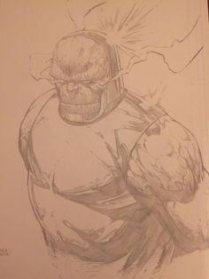 @dfinchartist made this amazing sketch for me! Great guy and great artist! Hail Darkseid!