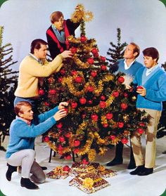 Vintage - The Beach Boys Christmas - A Classic Christmas Albums, Christmas Music, Retro Christmas, Vintage Holiday, Little Christmas, Christmas Themes, Holiday Fun, Festive, Christmas Time Is Here