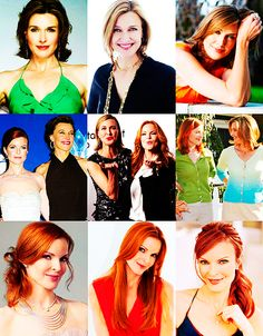Desperate Housewives: Brenda Strong and Marcia Cross