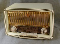 Philips Philetta Tube Radio (1950's)  At the moment you can buy the same model as an internet radio also by Philips.