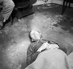 COWARD! Heinrich Himmler bit on a cyanide tablet to cheat the gallows. Himmler, after the death of Adolf Hitler and Joseph Goebbels, was probably the most prized catch out of all the senior figures in Nazi Germany.