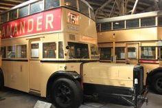 Busse in Berlin – Besuch im Lokschuppen Monumentenstraße