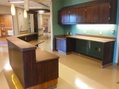 nurses Station featuring EOScu | Preventive Biocidal Surface.
