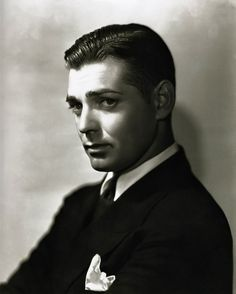 Clark Gable (with no mustache)
