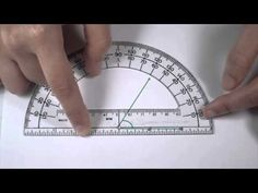 Angles Part 2 - Measuring Angles with a Protractor - YouTube