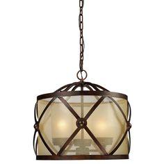 Cumberland 3-light Classic Bronze Chandelier | Overstock.com Shopping - The Best Deals on Chandeliers & Pendants