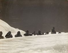 Sherpas on the North Col. j.B. Noel 1922– RGS Print Store