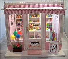 Lolly Shop by Mum and Me Miniatures, via Flickr