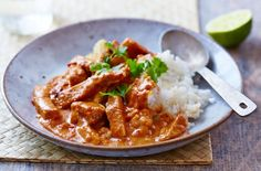 Leftover Pork Red Thai Curry with Coconut Rice - Tesco Real Food - Tesco Real Food