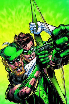 Green Arrow #44 - Green Lantern variant cover by Neal Adams *