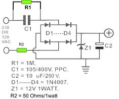 12v dc powersupply transformerless