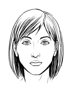 Sehr apprendre a dessiner un visage etape par etape … | Pinteres… XB87