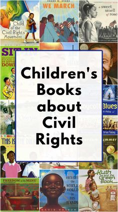 Picture books that teach children about the history of civil rights. Excellent books for kids ages 4-12. Read Aloud Books, Great Books To Read, I Love Books, Children's Books, Good Books, Reading Activities, Reading Skills, Best Children Books, Fiction And Nonfiction