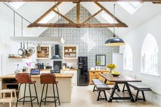 Chapel on the Hill is a project that turned a Methodist Chapel near Middleton-In-Teasdale, England into a boutique property that anyone can rent out on Airbnb.