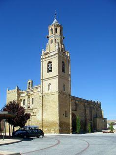 Iglesia de Santa María de la Corona, Ejea de los Caballeros, Zaragoza.