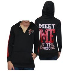 $39.99 nice Womens NFL Atlanta Falcons Athletic Pullover Hoodie by Pink Victoria's Secret