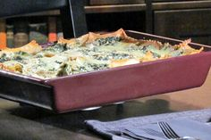 Whole Wheat Vegetable Lasagna from the Kitchen Boss...made this yesterday and it was sooooo good!!!!