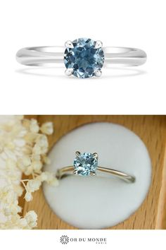 Artisans, Or, Sapphire, Engagement Rings, Weddings, Jewelry, Teal Blue Color, Splash Of Color, Shades