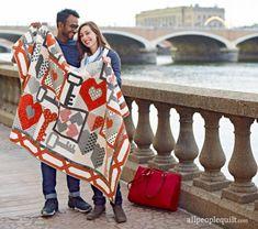 Keys to My Heart by @yardgrl60 using @modafabrics.