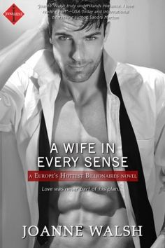 A Wife in Every Sense by Joanne Walsh A walking contradiction of a book plus an H that just rolls over and falls asleep after sex makes this book not work at all for Sparkles.
