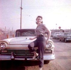 Back in the day ,1957 Ford