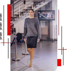 Елегантність понад усе! Светрик від бренду Maerz, спідниця від італійського бренду D`Exterior Leather Skirt, Photo And Video, Skirts, Sweaters, Clothes, Shopping, Instagram, Dresses, Vestidos