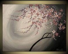 originele moderne Impasto schilderij op Gallery door TMKGallery