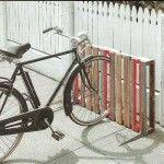 Non è un buon posto per parcheggiare la tua moto i pallet sono la soluzione! 1