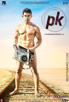 P.K movie First look Poster