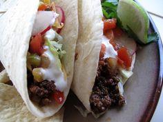 Soft Beef Tacos