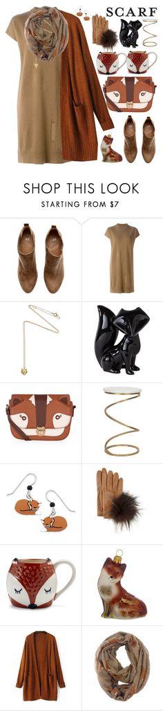 """It`s a Wrap!Fun Fall Scarves"" by grozdana-v ❤ liked on Polyvore featuring mode, H&M, Raquel Allegra, Estella Bartlett, Dot & Bo, Accessorize, Safavieh, Natures Jewelry, Inverni et Sur La Table"