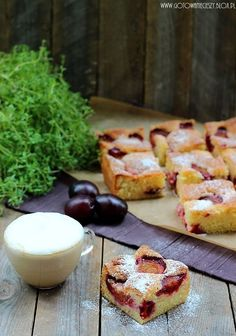 Oldschoolowe ciasto ze śliwkami Sweet Desserts, Sweet Recipes, Polish Recipes, Eat Cake, Baking Recipes, Meal Planning, Sweet Tooth, Good Food, Food And Drink