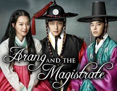 Arang and the Magistrate. Didn't think that I would love this drama as much as I did .... so great!