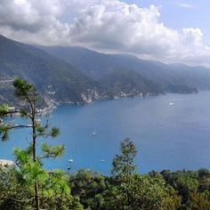 View from path number 1 from #Levanto to #Monterosso. Enjoy #CinqueTerre also in winter!
