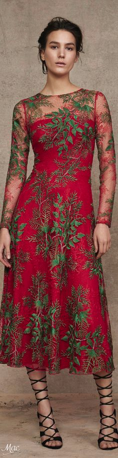 Pre-Fall 2016 Tadashi Shoji  women fashion outfit clothing style apparel @roressclothes closet ideas
