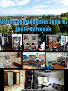 Vendo Apartamento Zona 15 Vista Hermosa 200 metros2 construccion 3 Dormitorios 3.5 Baños 2 Parqueos Cocina equipada granitp, desayunador, sala familiar, lavanderia, servicio , edificio exclusivo. $270,000 42387726 anaurrutia@live.com www.inmueblesonline.tk Like en Facebook Bienes Inmuebles GT #apartamento #zona15 #vistahermosa #guatemala