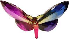 Butterfly Suncatcher Pink/Blue Butterfly Ornaments, Butterfly Gifts, Sun Catcher, Beautiful Eyes, Pink Blue, Crystals, Pretty Eyes, Suncatchers, Crystal