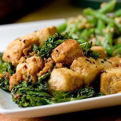 Tofu Kale Stir-Fry - vegan #food #recipe