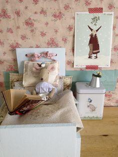 Una cama para Petunia de Pitimini Cose