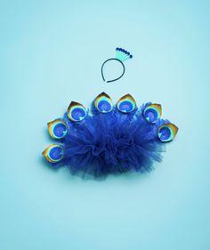 How To: Make Peacock Up disfraz de pavo real. super cute.