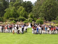 These gorgeous grounds guarantee a wedding that wows! [The Oregon Garden]